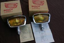 MERCEDES 190SL PORSCHE 356 NEW BOSCH FOG LIGHTS YELLOW