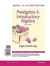 Prealgebra & Introductory Algebra by Martin-Gay a la Carte Edition