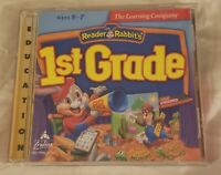 Reader Rabbit's 1st Grade PC Game (1997) Ages 5-7 The Learning Company Education
