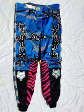 "🌟Vintage Fox racing image Zebra pants 34"" vintage motocross Mx vtg jt racing"