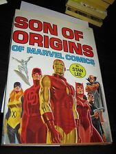 Fireside/Marvel Comic HB Son of Origins Hardcover Strict NM Unread 1975 Stan Lee