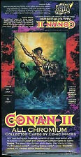 Conan II All Chromium Trading Card Box New From 1994 Comic Images
