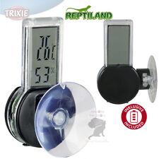 Digital Thermo/Igrometro facile montaggio con ventosa Range di umidità 30% - 90%