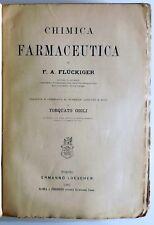 CHIMICA FARMACEUTICA FLUCKIGER TORQUATO GIGLI LOESCHER 1882