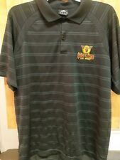 Men's Adidas NBDL Fort Wayne Mad Ants Black Short-Sleeve Polo M Basketball NBA