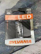 SYLVANIA - 2825 T10 W5W ZEVO LED White Bulb - Bright LED Bulb T2