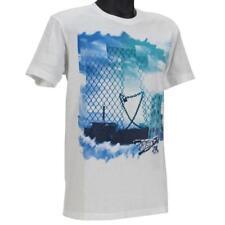 Oakley KEY TO THE CITY T-Shirt Size M Medium White Mens Slim Fit Cotton Tee