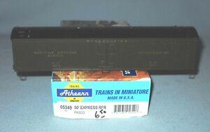 6209_ATHEARN HO SCALE FRISCO 50' EXPRESS REEFER UNBUILT PLASTIC KIT NOS