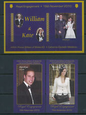 PENRHYN #480 -82 MNH ROYAL ENGAMENNT Prince of Wales & Kate Middleton FOS87