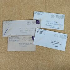Vintage Hand Written Letters 1945 - 1948 Marine Corps Lot of 4