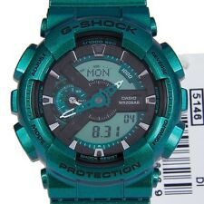 CASIO G-SHOCK MENS WATCH GA-110NM-3A FREE EXPRESS NEON GREEN GA-110NM-3ADR
