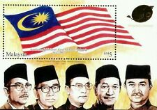 Golden Jubilee Celebration Independence Malaysia 2007 (ms MNH *gold foil unusual