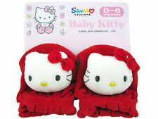 Newborn Size ( 0-6 months) Accessory ~ Sanrio Hello Kitty Plush Baby Gloves