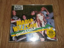"MARIA WILLSON "" CHOOZA LOOZA "" CD SINGLE  EXCELLENT ON BUSTED TOUR"