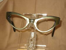 Vintage Eyeglasses Simple Golden Cateye Alice