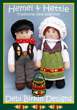 ON SALE - NARROWBOAT CANAL DOLLS TOYS KNITTING PATTERN