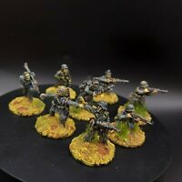 Painted 28mm Bolt Action Ww2 German Grenadiers ×8 Squad #2