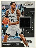 2019-20 NBA Prizm LaMarcus Aldridge GU Jersey Spurs Bubble Mail Ship Sensational