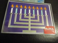 Moma Nyc Chanukkah Hanukkah cards, box of 8 by Mary Beth Cryan, new in box