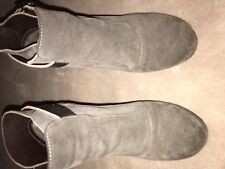 Allsaints Taupe Wedge Boots EU 38