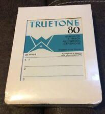 Vintage Truetone 80 Minute 8 Track Recording Cartridge NOS Western Auto Stores