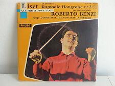 ROBERTO BENZI / Orch Concerts Lamoureux LISZT Rapsodie hongroise N°2 99875 DE