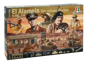 EL ALAMEIN The Railway Station	6181 BATTLE SET ITALERI 1:72 New!
