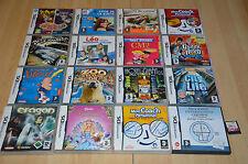 lot 17 Jeux Nintendo DS : Léa, sims, coach, zoo... / VF