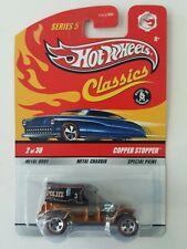Hot Wheels Classics Series 5 COPPER STOPPER POLICE Truck Van  Color Gold & Black
