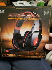 PC PS4 Xbox New Stereo Wireless Gaming Headset Headphone with Mic Microphone LED