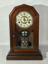 "1878 Seth Thomas ""Nashville"" Mantel Clock - City Series - All Original"