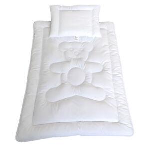 Baby Set Bett Bärchen Bettdecke Baby Kinder Set Steppbett+Kissen 100x135/40x60cm