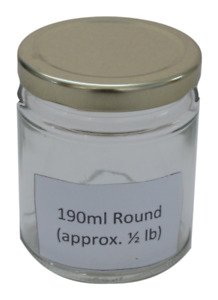 SALE - 102 xGlass Jar 190ml, Preserve, Food, Jam, Honey Jars with screw top lids