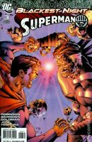 Blackest Night Superman #3 Shane Davis Variant (2009) DC Comics