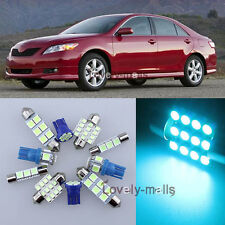 Ice Blue Car Auto Light Interior Package 12x for Toyota Camry 2007-2011 LA