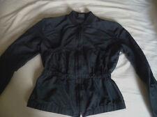 Veste courte noire zippée PLEIN SUD. Taille 36