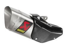 Akrapovic 90798-33301 Titanium Slip-on Muffler