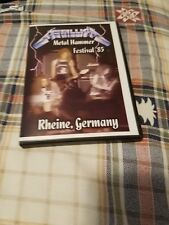 METALLICA - DVD Live 1985 'Ride The Lightning' Tour Germany - Rare IMPORT