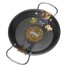Small 20cm Kitchen Craft Non-Stick Spanish Paella Rice Pan Dish Induction Hob