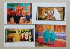 Set of 4 Postcards Christian Hans Georg Saerhrendt Germany Artist 1990's
