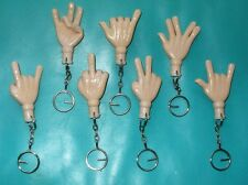 HAND KEY CHAIN w/ BENDABLE FINGERS