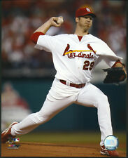 Chris Carpenter Pitching Action St. Louis Cardinals 8x10 Photo With Toploader