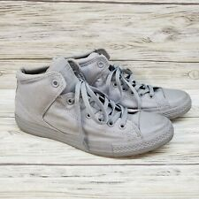 Converse Grey High Tops Padded Ankle Support Mens 10.5 Womens Size 12.5