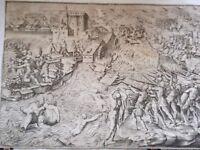 stampa antica battaglia di serravalle