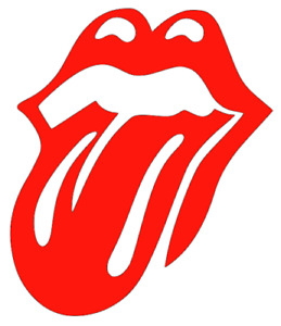Rolling Stones, Mick Jagger, Tongue, Car, Van, Truck, Wall, Art, Decal, Sticker.
