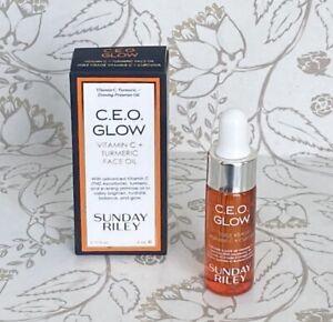 Sunday Riley CEO GLOW Vitamin C + Turmeric Face Oil 5ml / 0.17oz