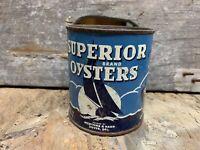 Superior Oysters Newcomb Dover DE Pint #7. JB