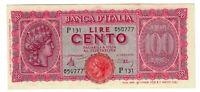 1944 ITALY 100 LIRE