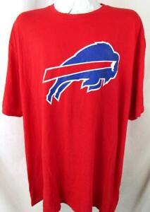 "Buffalo Bills Big Mens 4XL Short Sleeve Screened ""PRIMARY LOGO"" T-shirt BIL 44"