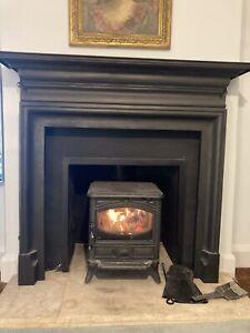 Georgian Victorian Antique Style Cast Iron Fire Surround